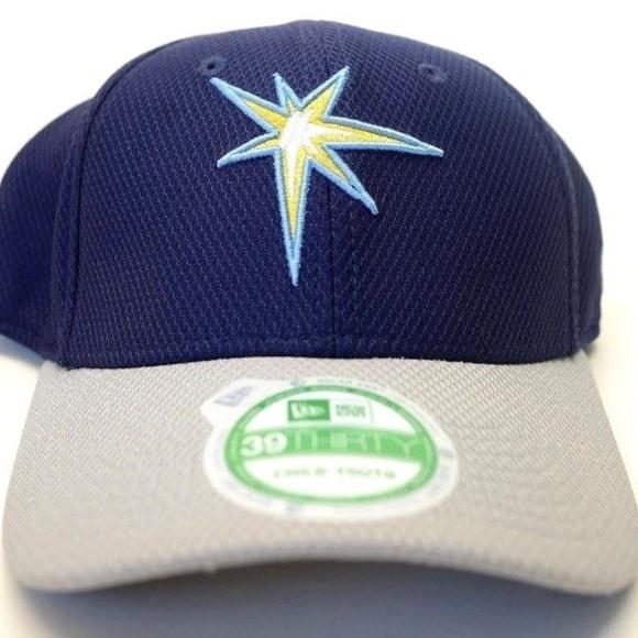 brand new ef322 168c1 Youth New Era Tampa Bay Rays 39Thirty Cap